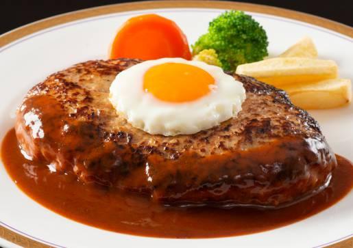 スカイレストラン「プロスパー」 1ポンド★ハンバーグステーキ