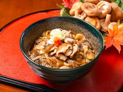 和食処「羽山」 【ランチ限定】茸あんかけ蕎麦
