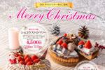 予約受付中♪ 花巻温泉のクリスマスケーキ2020