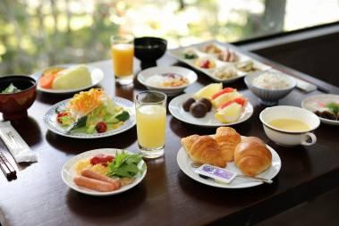 充実の和洋メニュー♪ 朝食バイキング