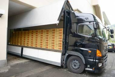 4/29 6トンの台湾パイナップルが到着