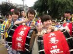 世界一の太鼓パレード☆盛岡さんさ踊り開催!